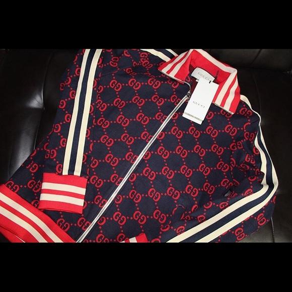 522dd97feb2211 Gucci Jackets & Coats | Jacquard Jacket | Poshmark